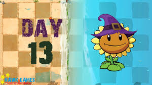 plants vs zombies 2 big wave beach day 13 produce 2000 sun