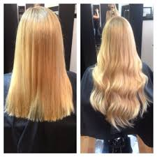 Hair Extensions St Louis Mo by Before And After With Heads Extensions By Melanie Yelp