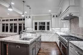 Kitchen White Cabinets Black Countertops Kitchen Elegant Kitchen White Marble Picture Of New On Creative
