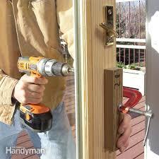Replacing Patio Door Door Installation The Family Handyman