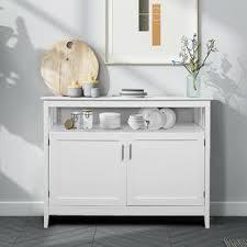 white kitchen storage cabinet goplus modern kitchen storage cabinet buffet server table