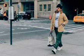 the best street style from new york fashion week men u0027s photos gq
