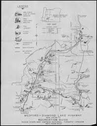 Southern Oregon Map by Southern Oregon Recreation Map 1930s Maps Pinterest Maps