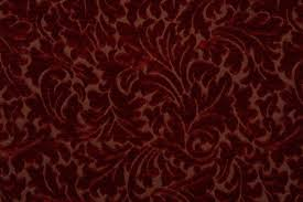 Textured Chenille Upholstery Fabric Chenille Patterned Upholstery Fabric In Pomegranate
