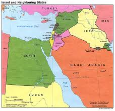 Maps Of The Middle East by Nationmaster Maps Of Israel 41 In Total