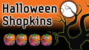 shopkins halloween pumpkin blind bags glow in the dark shopkin