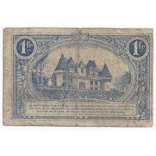 chambre de commerce de bergerac bergerac chambre de commerce 1 franc 1920 tres beau