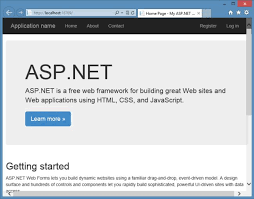 templates for asp net web pages introducing various project templates in visual studio 2013 rc