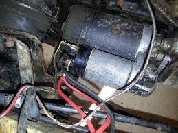 starter motor wiring classic ford forum