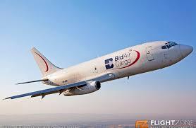 bid air boeing 737 zs sif rand airport fagm aca cargo bid air cargo the