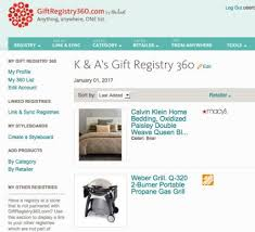 bridal registry website popular wedding registries lovetoknow