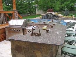 Rustic Outdoor Kitchen Ideas - outdoor kitchen designs with pool home outdoor decoration