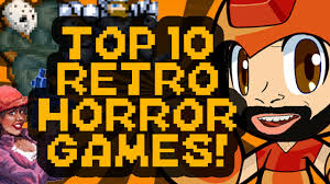 top 10 retro scary horror games for halloween countdown megamat