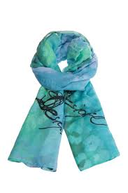 desigual aqua blue scarf from toronto by eye on fashion u2014 shoptiques
