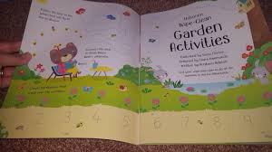 usborne books u0026 more new 2017 wipe clean garden activities youtube