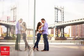 nyc photographers nyc creative engagement photographers bridge rhinehart