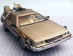 Polar Lights Models Polar Lights U0027 0911 1 25 Back To The Future Time Machine Kit Build