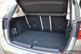 nissan micra luggage space 2015 bmw 2 series active tourer boot space forcegt com