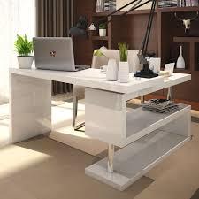 White Bedroom Desk Furniture Furniture Delightful Long Narrow White Trestle Desk With Four