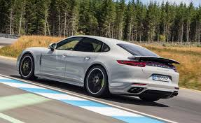 porsche panamera hybrid 2017 the 2018 porsche panamera turbo s e hybrid is a mind bending
