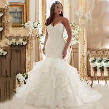 fitted wedding dresses aliexpress buy shoulder fitted bridal gowns luxury
