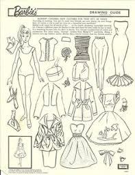 missy paper dolls vintage barbie drawing guide portfolio