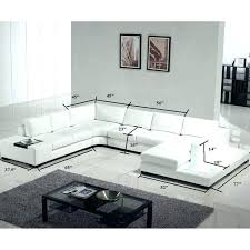 modern black and white leather sectional sofa modern white leather sectional modern white leather sectional sofa