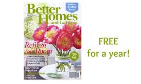 free magazine subscription pleasing better homes and gardens free
