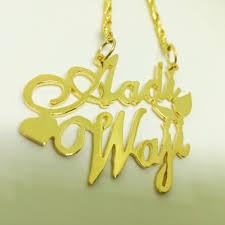 Custom Made Name Necklace Stylish Handmade Customized Name Necklace