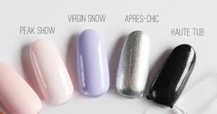 essie winter nail polish collection review swatches