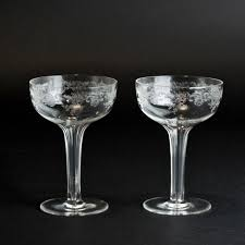 vintage champagne glasses architectures vintage hollow stem champagne glasses vintage etched
