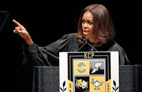 michelle obama graduation commencement obama speaks in chicago