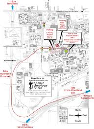 Davis Map Contact Us Academic Technology Services