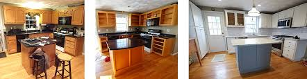 refacing kitchen cabinets ideas reface cabinets before after photos affordable