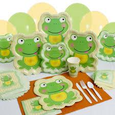 frog baby shower invitations baby shower tableware by babyshowerstuff com