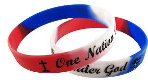 rubber wrist bracelet images One nation under god silicone rubber wristband bracelet gadow jpg