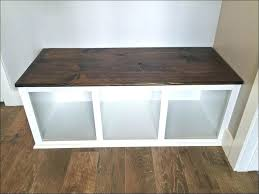 chevron shoe storage ottoman bench real simple wood 26160