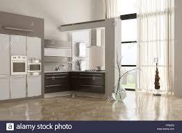 modern minimalist kitchen modern minimalist kitchen interior with built in appliances and