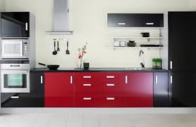 Red And Black Kitchen Cabinets by Red And Black Kitchen Designs Of Well Images About Kitchens On
