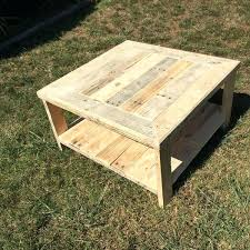 Coffee Table From Pallet Diy Wood Coffee Table Jamiltmcginnis Co