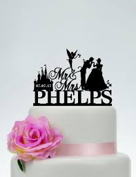 cinderella wedding cake topper disney wedding cake topper mr and mrs cake topper with surname