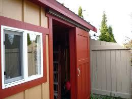 Exterior Shed Doors Sliding Shed Door Shed Work Building Shed Doors Plans Sliding Shed