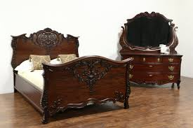 Marble Top Victorian Bedroom Set Sold Bedroom Sets Harp Gallery Antiques