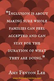 quot Inclusion is about making sure whole families can be accepted     quot  Pinterest