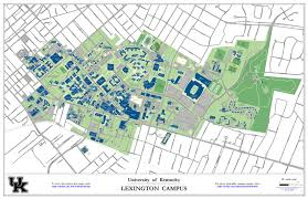 Direction Map University Of Kentucky University Of Kentucky Directions