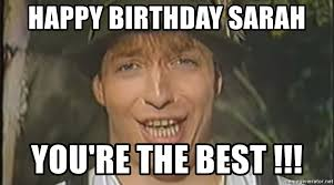 Woody Meme Generator - happy birthday sarah you re the best die woody meme generator