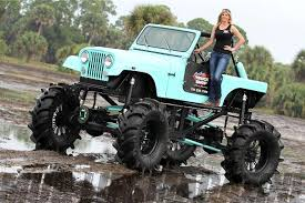 mudding truck for sale custom jeep mud truck with rockwell axles photo 69132855 top