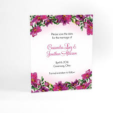 save the date cards free floral wedding save the date cards with watercolor flowers garden