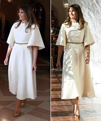 When Does The White House Get Decorated For Christmas Melania Trump Views This Year U0027s Christmas Decorations At The White