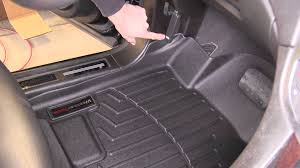 lexus rx floor mats all weather review of the weathertech front floor mats on a 2012 cadillac srx